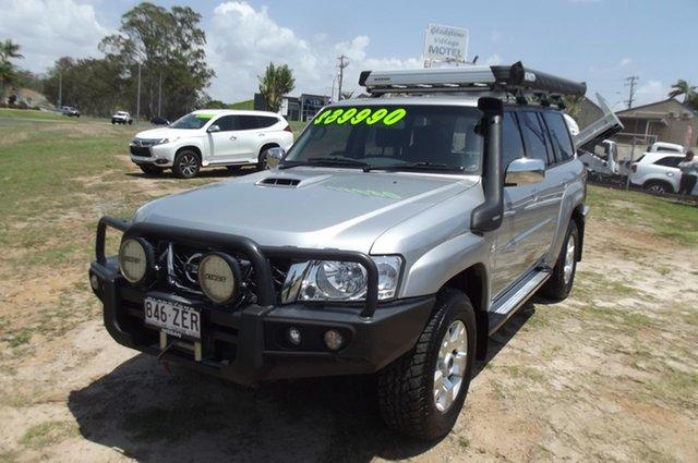 Used Nissan Patrol Y61 GU 10 Legend Edition, 2016 Nissan Patrol Y61 GU 10 Legend Edition Platinum 5 Speed Manual Wagon