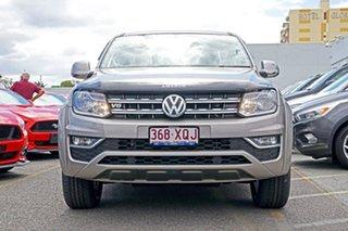 2017 Volkswagen Amarok 2H MY17.5 TDI550 4MOTION Perm Sportline Beige 8 Speed Automatic Utility.