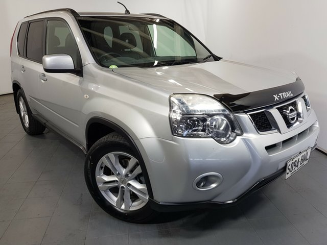 Used Nissan X-Trail T31 Series IV ST-L, 2012 Nissan X-Trail T31 Series IV ST-L Silver 1 Speed Constant Variable Wagon