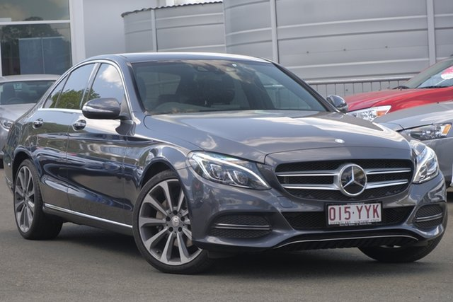 Used Mercedes-Benz C-Class W205 C250 BlueTEC 7G-Tronic +, 2014 Mercedes-Benz C-Class W205 C250 BlueTEC 7G-Tronic + Grey 7 Speed Sports Automatic Sedan