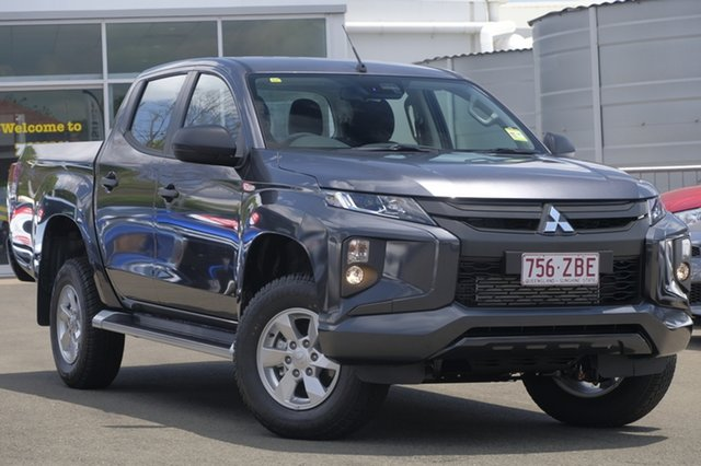 Used Mitsubishi Triton MR MY19 GLX+ Double Cab, 2019 Mitsubishi Triton MR MY19 GLX+ Double Cab Graphite Grey 6 Speed Manual Utility