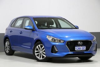 2018 Hyundai i30 PD Active Blue 6 Speed Auto Sequential Hatchback.