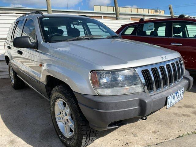 Used Jeep Grand Cherokee WG MY2004 Laredo, 2004 Jeep Grand Cherokee WG MY2004 Laredo Silver 5 Speed Automatic Wagon