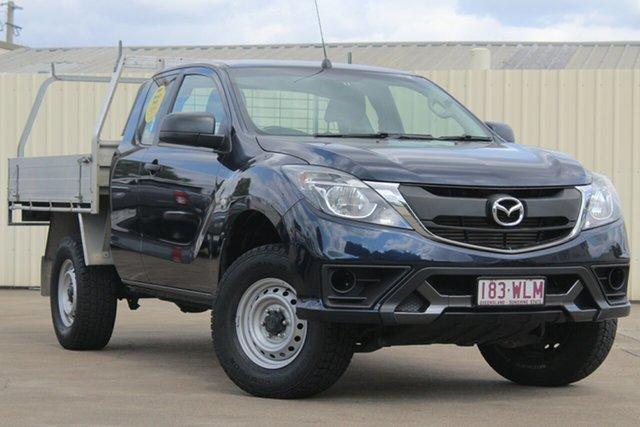 Used Mazda BT-50 UR0YF1 XT Freestyle, 2016 Mazda BT-50 UR0YF1 XT Freestyle Deep Crystal Blue 6 Speed Sports Automatic Cab Chassis