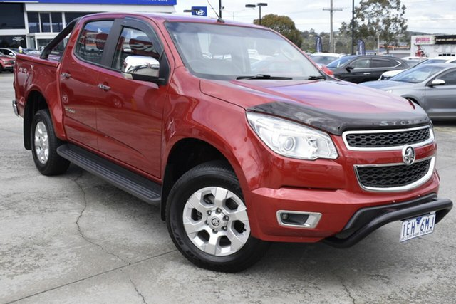 Used Holden Colorado RG MY15 Storm Crew Cab, 2015 Holden Colorado RG MY15 Storm Crew Cab Red 6 Speed Sports Automatic Utility