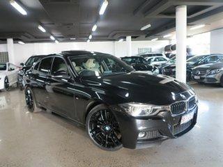 2016 BMW 3 Series F30 LCI 330i M Sport Black Sapphire 8 Speed Sports Automatic Sedan.
