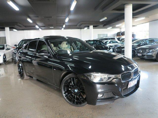 Used BMW 3 Series F30 LCI 330i M Sport, 2016 BMW 3 Series F30 LCI 330i M Sport Black Sapphire 8 Speed Sports Automatic Sedan