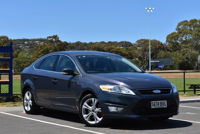 Used Ford Mondeo MC Zetec, 2011 Ford Mondeo MC Zetec Grey Blue 6 Speed Sports Automatic Hatchback