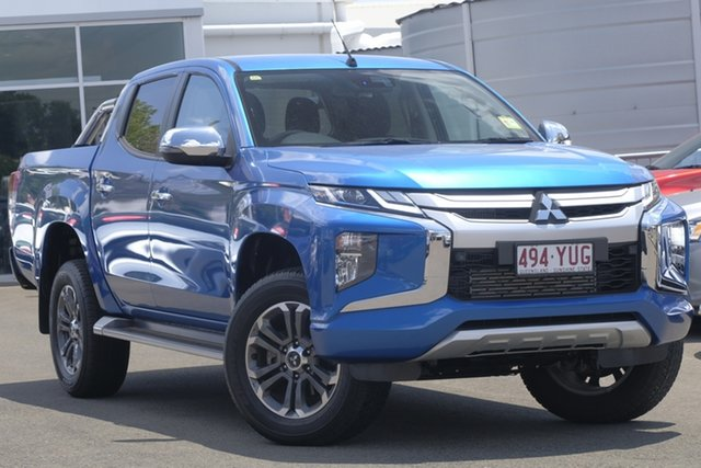 Used Mitsubishi Triton MR MY19 GLS Double Cab, 2019 Mitsubishi Triton MR MY19 GLS Double Cab 6 Speed Sports Automatic Utility