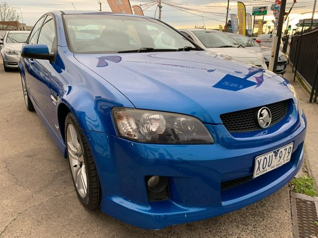 Used Holden Commodore VE MY10 SS, 2010 Holden Commodore VE MY10 SS Blue 6 Speed Manual Sedan