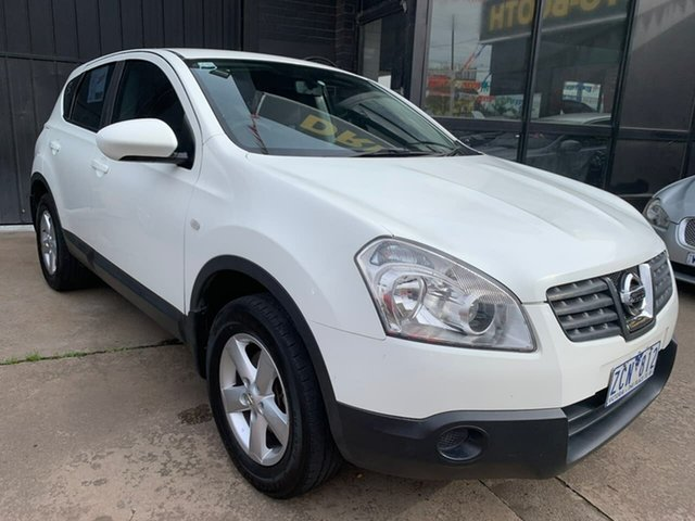 Used Nissan Dualis J10 MY2009 ST X-tronic AWD, 2010 Nissan Dualis J10 MY2009 ST X-tronic AWD White 6 Speed Constant Variable Hatchback