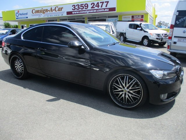 Used BMW 3 Series E92 MY09 323i Steptronic, 2009 BMW 3 Series E92 MY09 323i Steptronic Black 6 Speed Sports Automatic Coupe