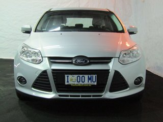 2014 Ford Focus LW MkII Trend PwrShift Silver 6 Speed Sports Automatic Dual Clutch Hatchback