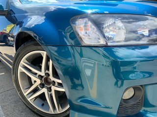 2011 Holden Ute VE II MY12 SV6 Green 6 Speed Manual Utility.