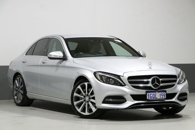 Used Mercedes-Benz C250 205 BlueTEC, 2014 Mercedes-Benz C250 205 BlueTEC Silver 7 Speed Automatic Sedan