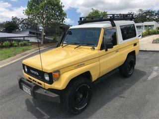1985 Toyota Landcruiser BJ73 Yellow 5 Speed Manual Hardtop
