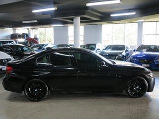2016 BMW 3 Series F30 LCI 330i M Sport Black Sapphire 8 Speed Sports Automatic Sedan