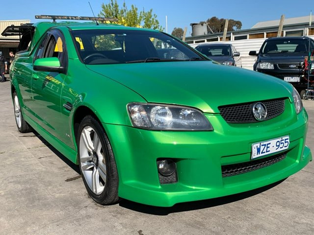 Used Holden Ute VE MY09.5 SS, 2009 Holden Ute VE MY09.5 SS Green 6 Speed Sports Automatic Utility