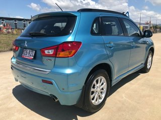 2011 Mitsubishi ASX XA MY12 Platinum 2WD Blue 6 Speed Constant Variable Wagon.