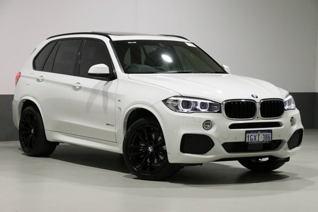 Used BMW X5 F15 MY18 xDrive 30d M Sport, 2018 BMW X5 F15 MY18 xDrive 30d M Sport Alpine White 8 Speed Automatic Wagon