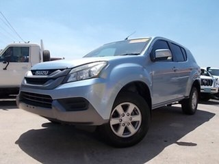2015 Isuzu MU-X MY15 LS-M Rev-Tronic 4x2 Blue 5 Speed Sports Automatic Wagon