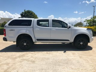 2016 Holden Colorado RG MY16 LS-X Crew Cab White 6 Speed Manual Utility.