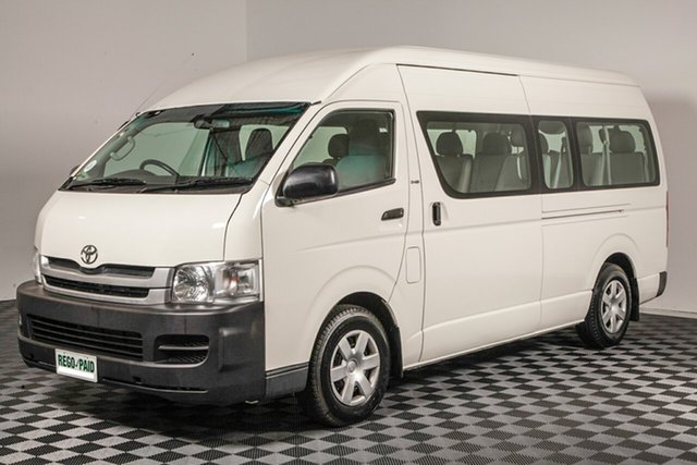 Used Toyota HiAce KDH223R MY08 Commuter High Roof Super LWB, 2007 Toyota HiAce KDH223R MY08 Commuter High Roof Super LWB French Vanilla 5 Speed Manual Bus