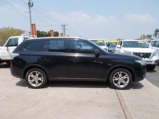 2014 Mitsubishi Outlander ZJ MY14.5 ES 2WD Black 6 Speed Constant Variable Wagon