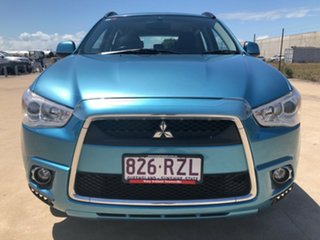 2011 Mitsubishi ASX XA MY12 Platinum 2WD Blue 6 Speed Constant Variable Wagon