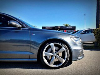 2013 Audi A6 4G BI-Turbo Grey Sports Automatic Sedan