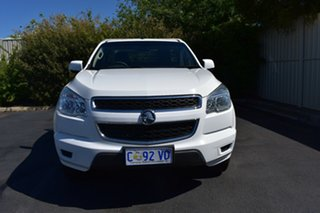 2012 Holden Colorado RG MY13 LX White 5 Speed Manual Cab Chassis