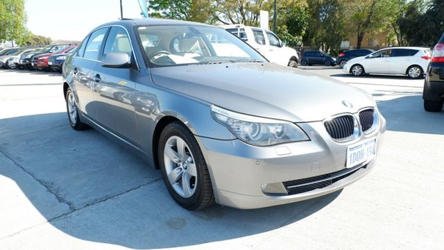 Used BMW 5 Series E60 MY08 520d Steptronic, 2008 BMW 5 Series E60 MY08 520d Steptronic Silver 6 Speed Sports Automatic Sedan