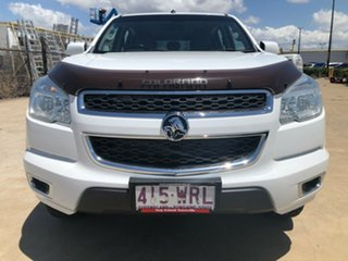 2016 Holden Colorado RG MY16 LS-X Crew Cab White 6 Speed Manual Utility
