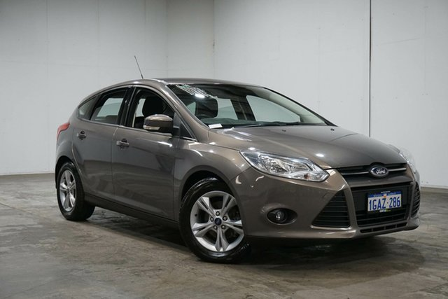 Used Ford Focus LW MkII MY14 Trend PwrShift, 2014 Ford Focus LW MkII MY14 Trend PwrShift Grey 6 Speed Sports Automatic Dual Clutch Hatchback