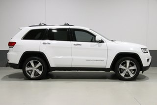 2014 Jeep Grand Cherokee WK MY15 Limited (4x4) White 8 Speed Automatic Wagon