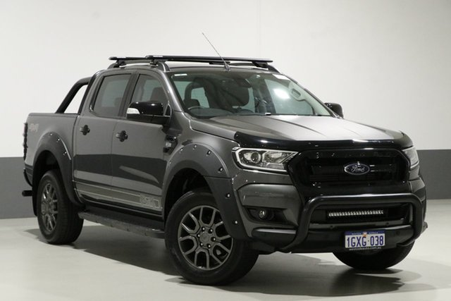 Used Ford Ranger PX MkII MY18 FX4 Special Edition, 2017 Ford Ranger PX MkII MY18 FX4 Special Edition Grey 6 Speed Automatic Dual Cab Utility