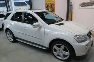 2010 Mercedes-Benz M-Class W164 MY10 ML350 CDI BlueEFFICIENCY AMG Sports White 7 Speed