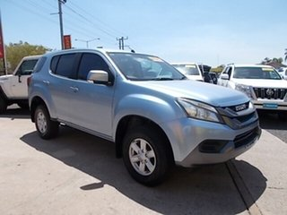 2015 Isuzu MU-X MY15 LS-M Rev-Tronic 4x2 Blue 5 Speed Sports Automatic Wagon.