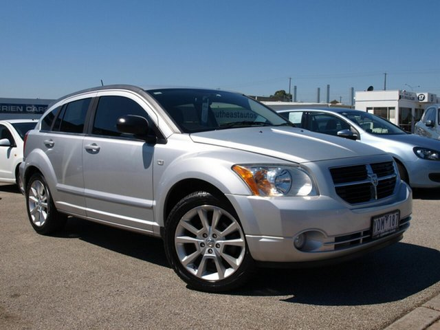 Used Dodge Caliber PM MY11 SXT, 2011 Dodge Caliber PM MY11 SXT Silver 6 Speed Constant Variable Hatchback