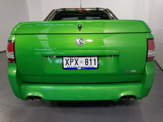 2007 Holden Ute VE SV6 Green 6 Speed Manual Utility