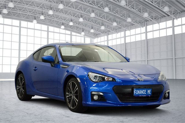 Used Subaru BRZ Z1 MY13 , 2013 Subaru BRZ Z1 MY13 Blue 6 Speed Manual Coupe