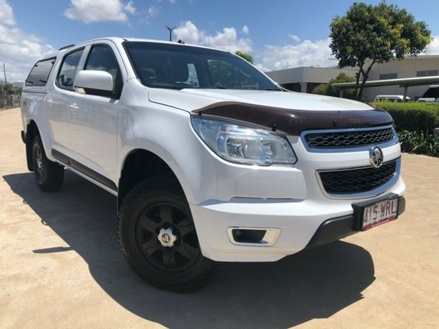 Used Holden Colorado RG MY16 LS-X Crew Cab, 2016 Holden Colorado RG MY16 LS-X Crew Cab White 6 Speed Manual Utility