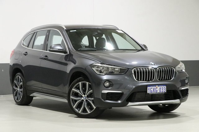 Used BMW X1 F48 MY18 xDrive 25I, 2018 BMW X1 F48 MY18 xDrive 25I Grey 8 Speed Automatic Wagon