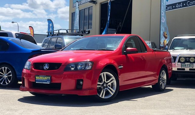 Used Holden Ute VE SV6, 2007 Holden Ute VE SV6 Red 5 Speed Sports Automatic Utility