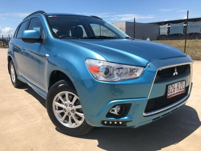 Used Mitsubishi ASX XA MY12 Platinum 2WD, 2011 Mitsubishi ASX XA MY12 Platinum 2WD Blue 6 Speed Constant Variable Wagon