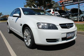 2009 Holden Commodore VE MY10 Omega White 6 Speed Automatic Sedan