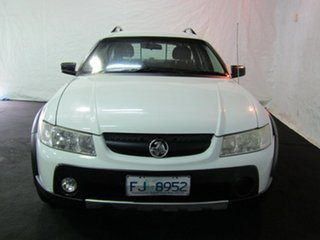 2006 Holden Adventra VZ MY06 SX6 Heron White 5 Speed Automatic Wagon