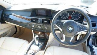 2008 BMW 5 Series E60 MY08 520d Steptronic Silver 6 Speed Sports Automatic Sedan
