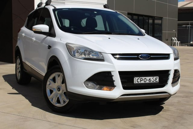 Used Ford Kuga TF Ambiente 2WD, 2013 Ford Kuga TF Ambiente 2WD White 6 Speed Manual Wagon