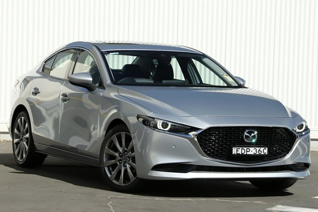 Demo Mazda 3  , 2019 Mazda 3 G25 ASTINA Silver 6 Speed Automatic Sedan